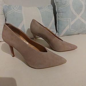 Vince Camuto suede shoes